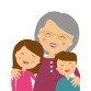 Abuela y nietos SF