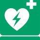 ISO 7010 E010 Automated external heart defibrillator